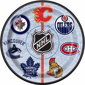 NHL Fans Assiettes 7po, 8un