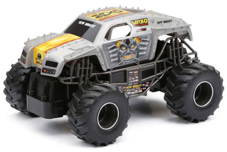 New Bright R/C Monster Jam Truck  - Max-D
