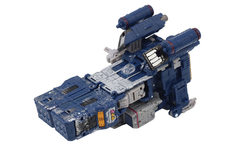 Transformers Generations War for Cybertron, figurine voyageur Soundwave WFC-S25, gamme Siege.