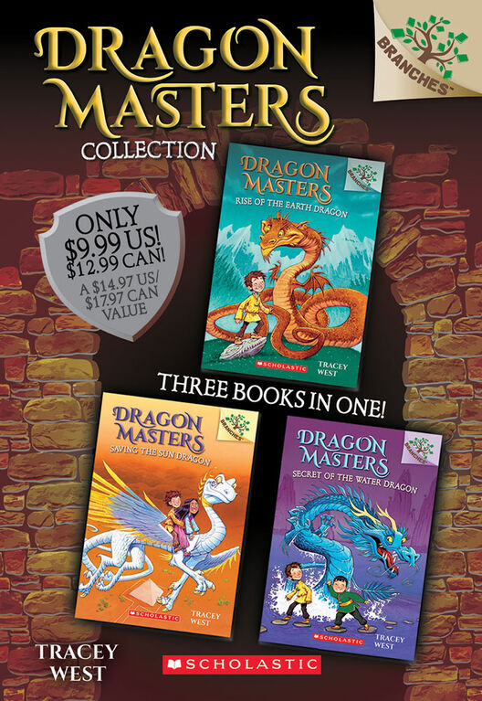 Scholastic - Dragon Masters Collection: Books 1-3 - Édition anglaise