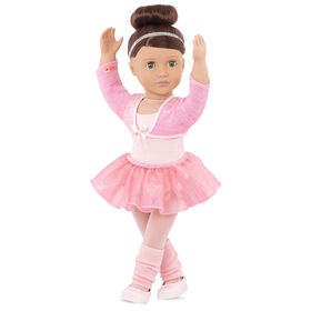 Our Generation, Sydney Lee, 18-inch Posable Ballet Doll