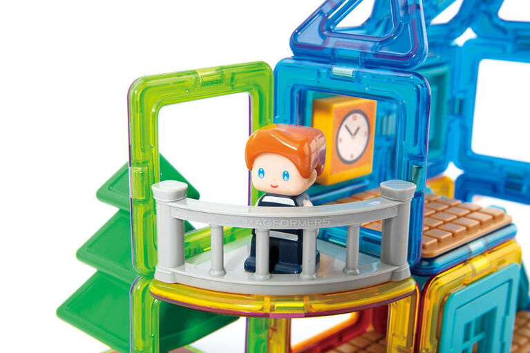 Magformers Max's Playground Set, Rainbow Colors