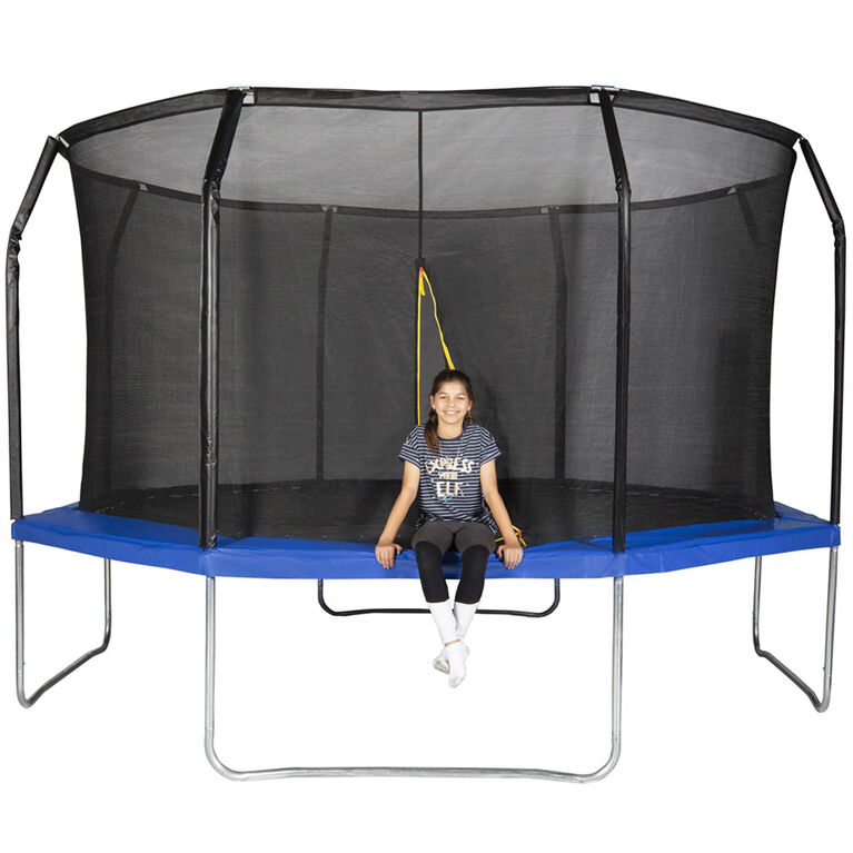 Action 14 foot Octagonal Trampoline Blue - R Exclusive