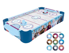 Frozen II Table De Hockey Sur Coussin D'Air