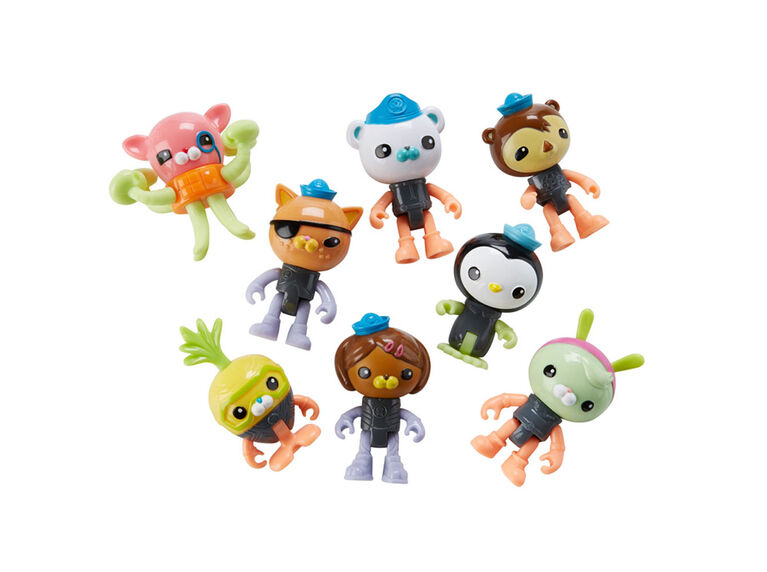Fisher-Price Octonauts Octo-Glow Crew Pack - English Edition