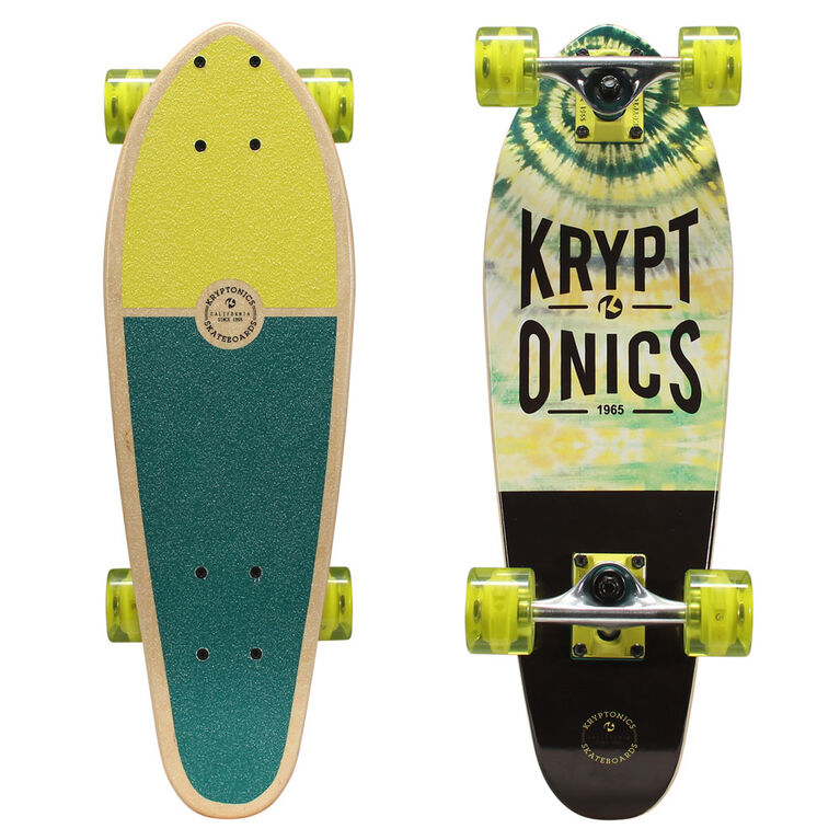 Kryptonics Mini Cruiser Complete Skateboard