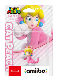 amiibo Cat Peach-Super Mario Series