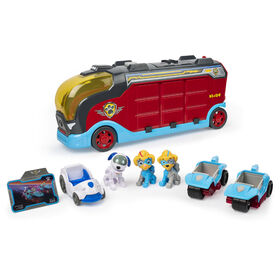 PAW Patrol Mighty Cruiser with 3 Vehicles and Sounds