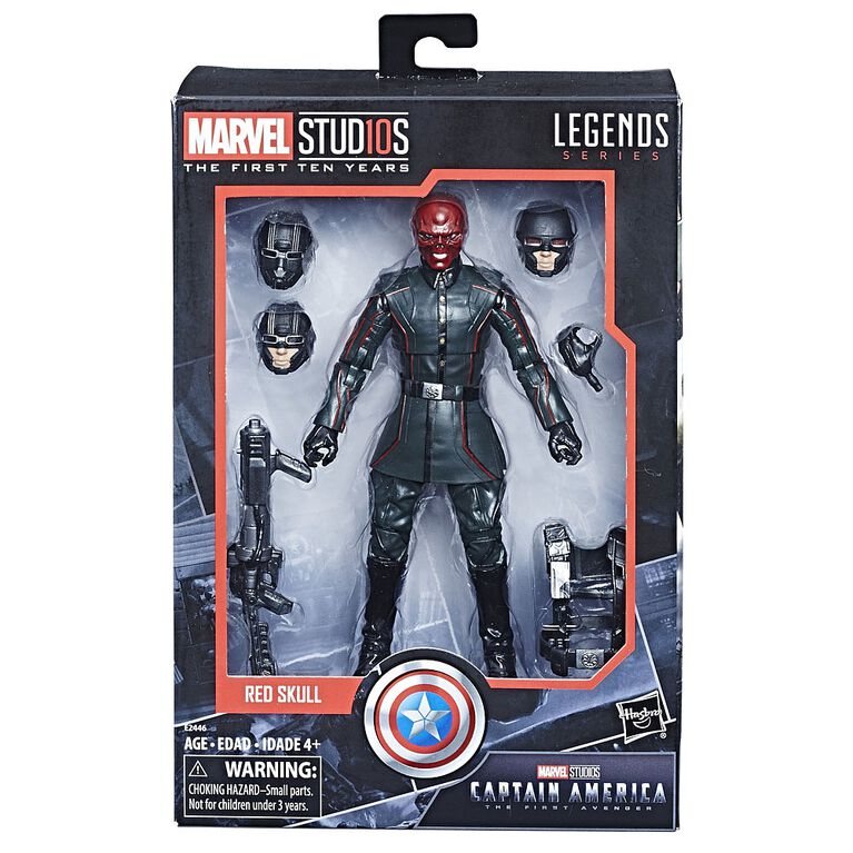 Marvel Studios: The First Ten Years Captain America: The First Avenger Red Skull