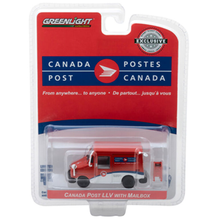 1:64 Canada Post Delivery Truck W.Acces.