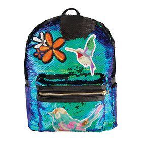 S. Lab Sequin&Patches Mini Backpack-Mermaid