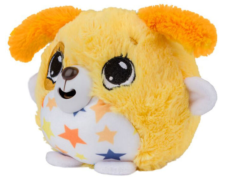Peluches Mushabelly (couineurs) - Chien jaune