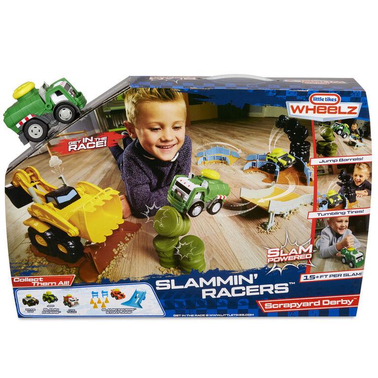 Little Tikes Slammin' Racers Scrapyard Derby - Exclusive