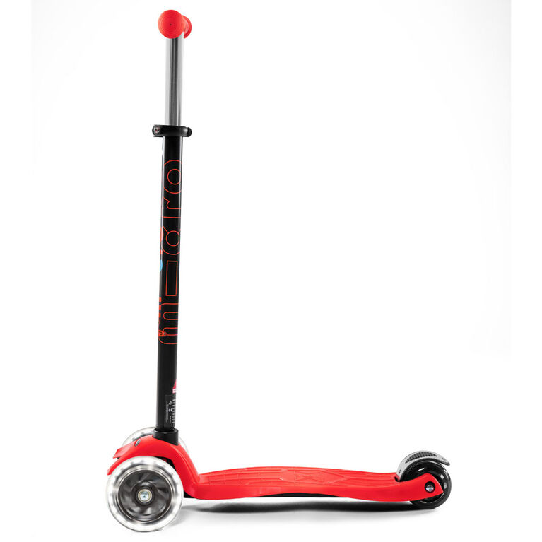 Micro Scooters Maxi Micro Classic Led Kickboard Red - Notre exclusivité