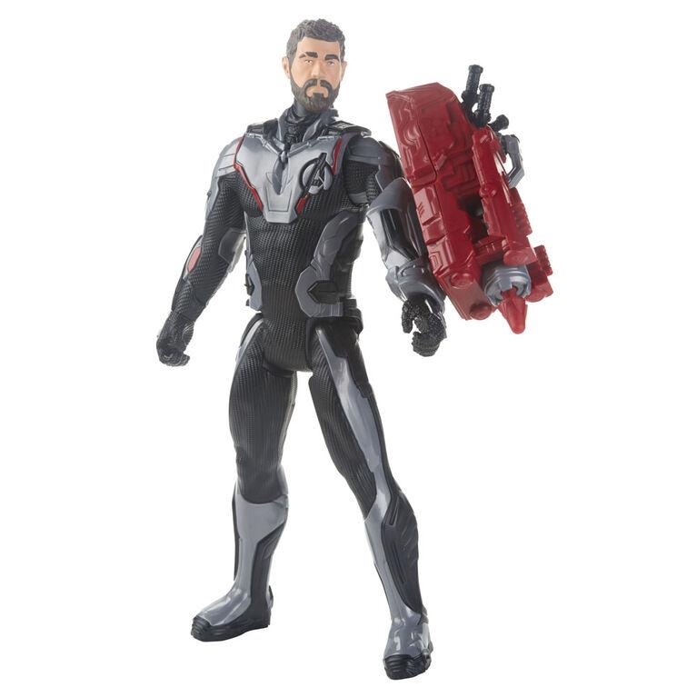Marvel Avengers : Phase finale Titan Hero Series - Figurine de Thor avec port Titan Hero Power FX.