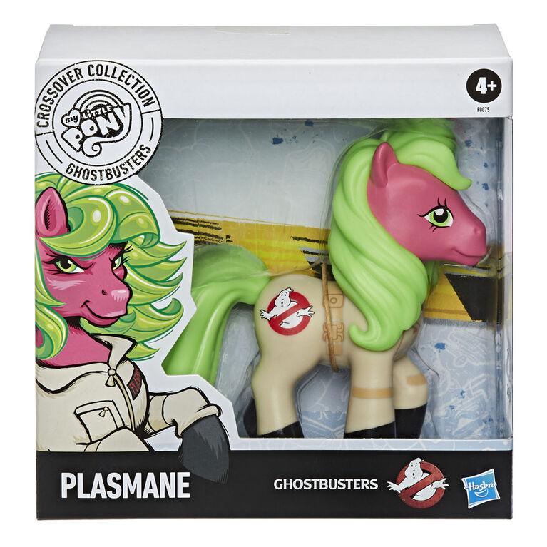 Collection Fusion My Little Pony et Ghostbusters, Plasmane, poney de collection inspiré de Ghostbusters - Notre exclusivité