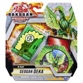 Bakugan Geogan Deka, Talan, Jumbo Collectible Transforming Figure