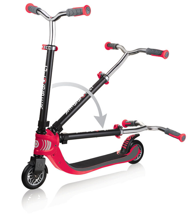 Flow 125 Foldable Scooter - Red