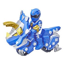 Playskool Heroes Power Rangers 2-Pack, Blue Ranger and Raptor Cycle