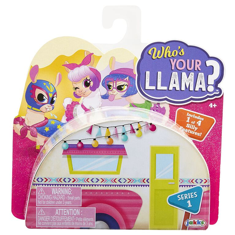Who's Your Llama - Colours and styles may vary