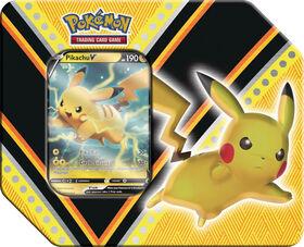 Pokemon V Powers Tin-Pikachu V