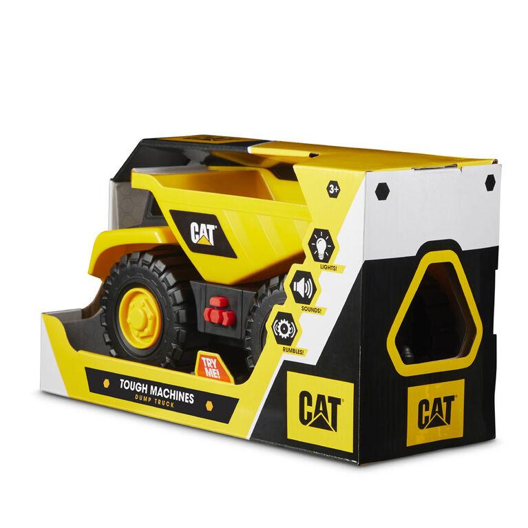 véhicules Tough Machines tombereau Cat