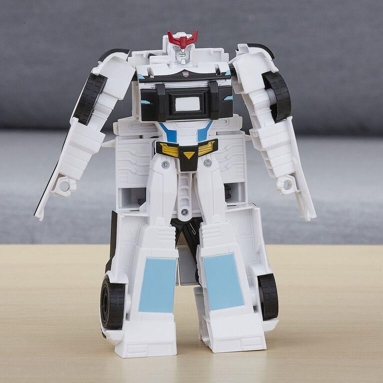 Transformers Cyberverse Action Attackers - Figurine Prowl de classe guerrier