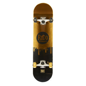 Redo 7.825 Champagne  Pop Drip Skateboard - R Exclusive