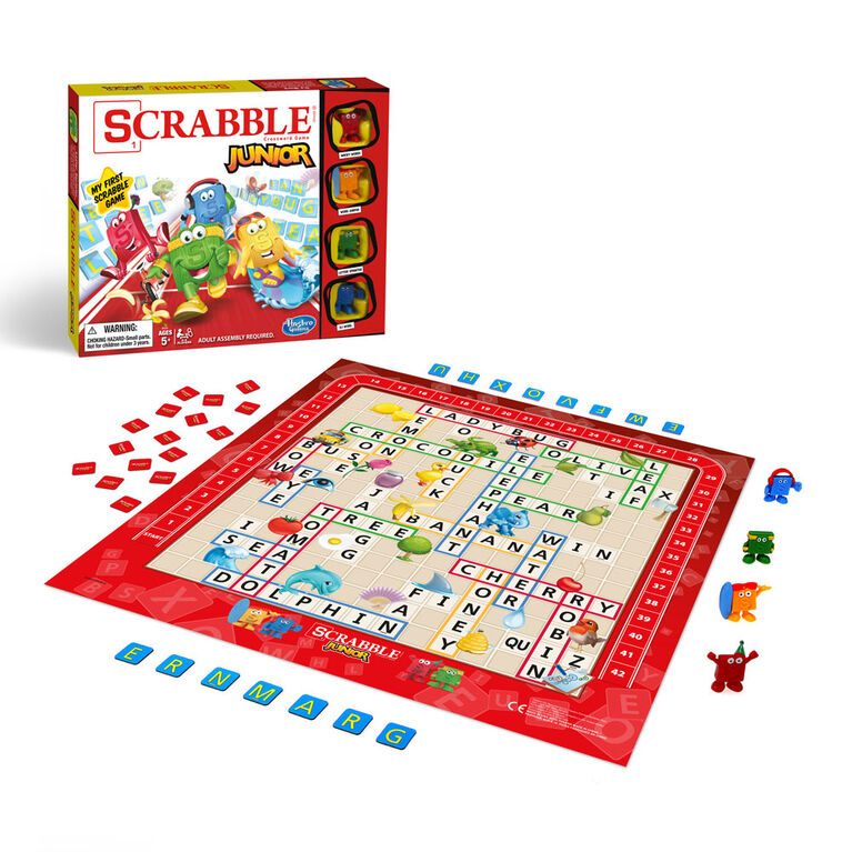 Hasbro Gaming Jeu Scrabble Junior - Édition anglaise