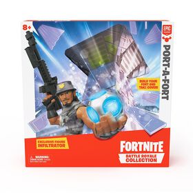 Collection Fortnite Battle Royale : Port-A-Fort.