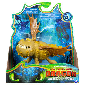 How To Train Your Dragon, Bulldog, dragon figurine with moving parts
