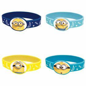 Minions Stretchy Bracelets, 4 pieces