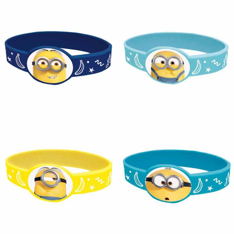 Minions Bracelets, 4un