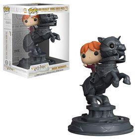 Figurine en vinyle Ron Weasley Riding Chess Piece de Harry Potter par Funko POP!.