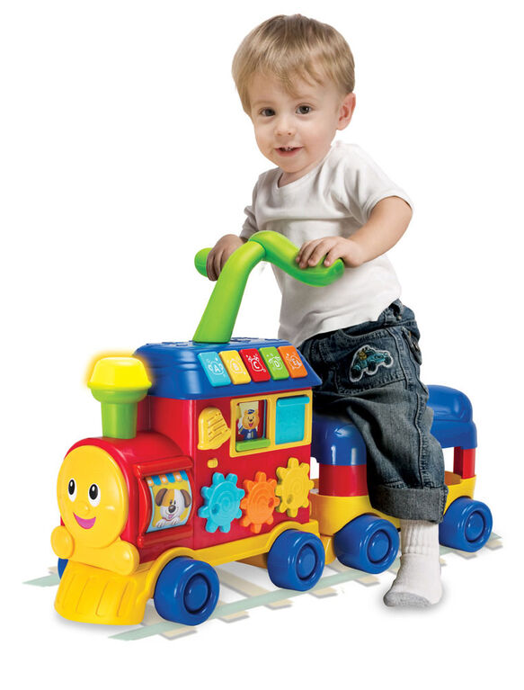 Walker Ride-on Learning Train - English Edition