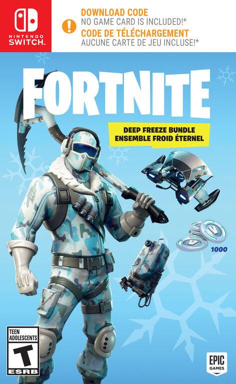 Nintendo Switch - Fortnite: Deep Freeze Bundle