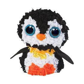 PlushCraft - Pingouin en 3D.