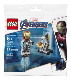 LEGO Super Heroes Iron Man and Dum-E 30452