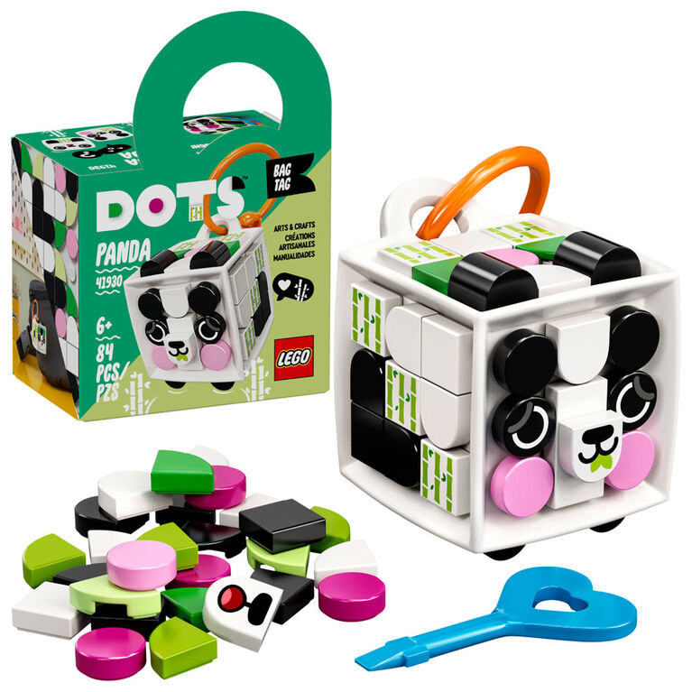 LEGO DOTS Bag Tag Panda 41930
