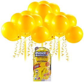 Bunch O Balloons 24 x 11 Inch Self-Sealing Latex Party Balloons - Yellow