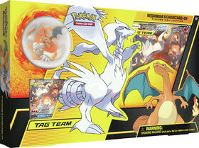 Pokemon Reshiram & Charizard-GX Figure Collection