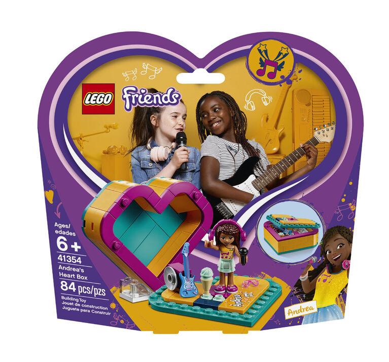 LEGO Friends La boîte coeur d'Andréa 41354.