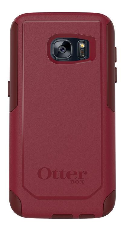 Étui Commuter d'OtterBox pour Samsung GS7 rouge