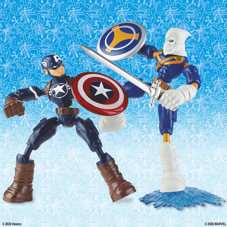 Marvel Avengers Bend and Flex Captain America 6-Inch Flexible Action Figure