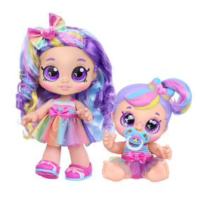 Kindi Kids Snack Time Friends: Rainbow Sisters Pack - R Exclusive
