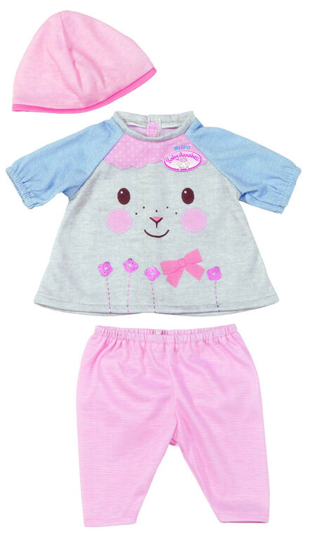 My First Baby Annabell - Dress for Fun - Grey/Pink - R Exclusive