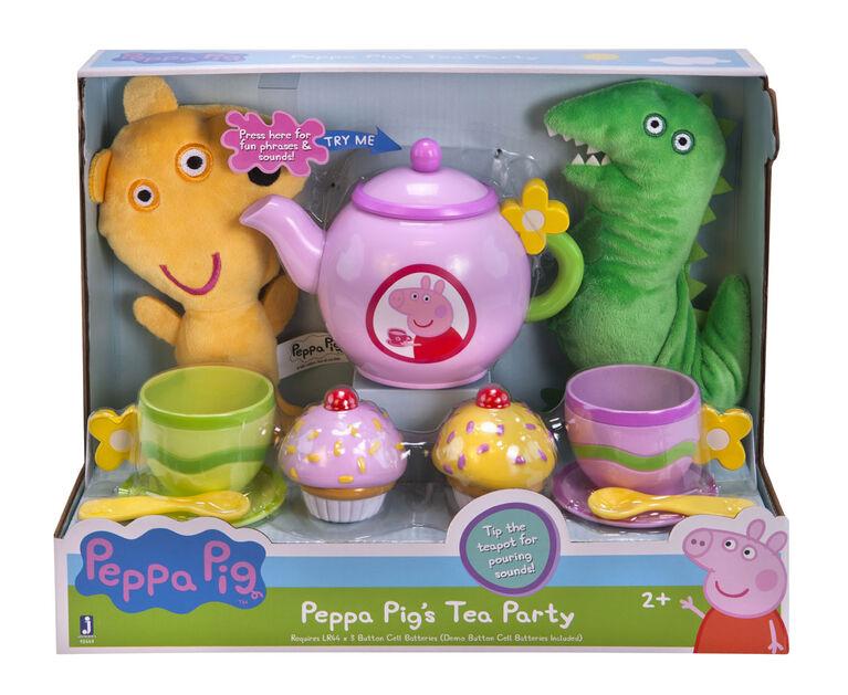 Peppa Pig's Tea Time Role Play Set - English Edition