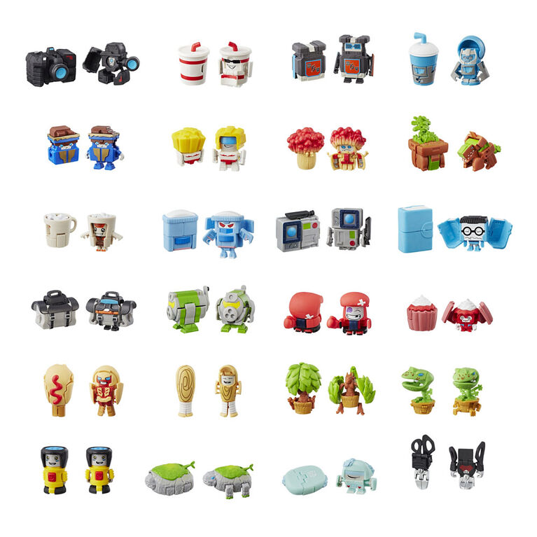 Transformers BotBots Series 1 Collectible Blind Bag Mystery Figure -  Surprise 2-In-1 Toy