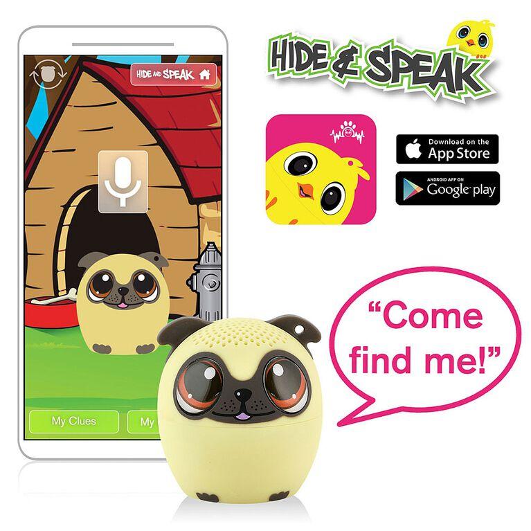 My Audio Pet - Power Pup - Pug Puppy Bluetooth Haut-Parleur
