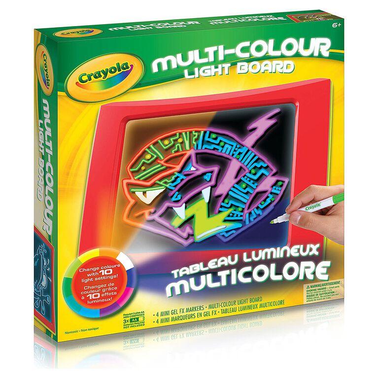 Crayola - Multi- Colour Light Board